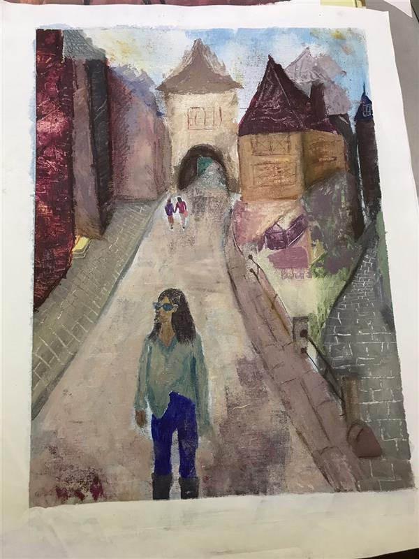 هنر نقاشی و گرافیک محفل نقاشی و گرافیک بهارهبانی #اکرلیک#نقاشی_مدرن#