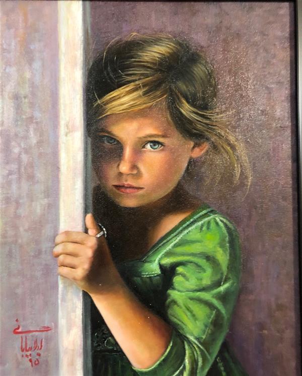 هنر نقاشی و گرافیک محفل نقاشی و گرافیک لیلا بیابانی رنگ روغن سایز ۴۰در۶۰ ارژینال