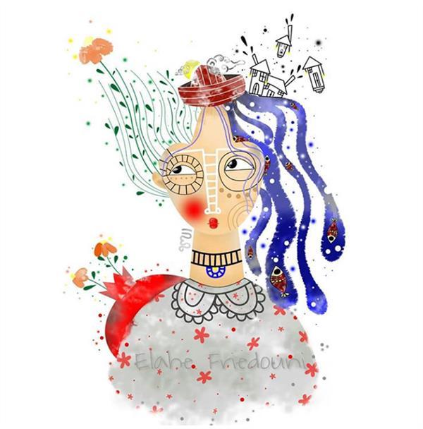 هنر نقاشی و گرافیک محفل نقاشی و گرافیک الهه فریدونی