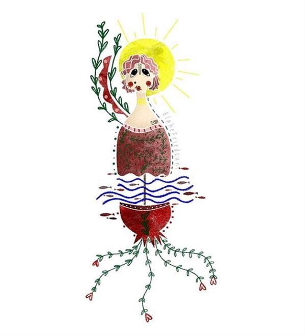 هنر نقاشی و گرافیک محفل نقاشی و گرافیک الهه فریدونی ابعاد کار :20×20 تکنیک : دیجیتال #تصویرسازی #تصویرگری #تصویرسازی_دیجیتال #illustration #illustrator