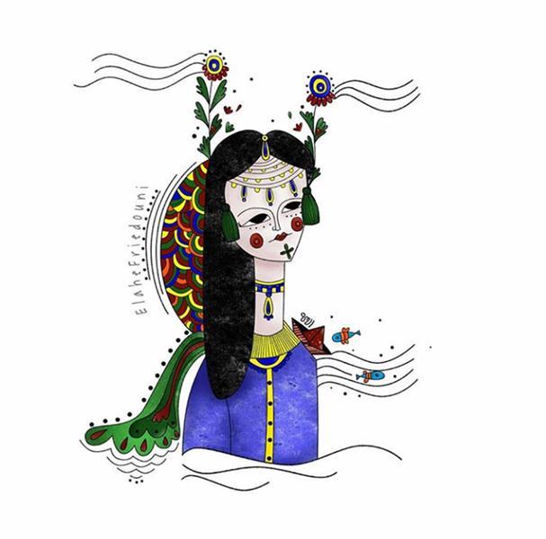 هنر نقاشی و گرافیک محفل نقاشی و گرافیک الهه فریدونی ابعاد کار :20×20 تکنیک کار : دیجیتال #تصویرسازی #تصویرگری #تصویرسازی_دیجیتال #illustration #illustrator