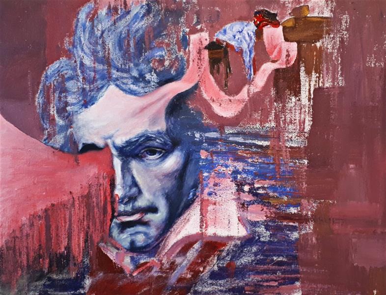 هنر نقاشی و گرافیک محفل نقاشی و گرافیک Saeed eskandari هنرمند : #سعیداسکندری  نام اثر : #پیانیست ( مجموعه خواب) ابعاد : ۳۰ × ۴۰ سانتی متر اکرلیک روی بوم
