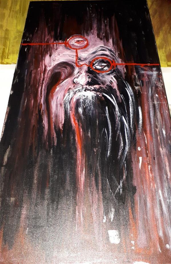 هنر نقاشی و گرافیک محفل نقاشی و گرافیک Saeed eskandari هنرمند : #سعیداسکندری  ابعاد : ۱۰۰ × ۵۰ سانتی متر اکرلیک روی بوم