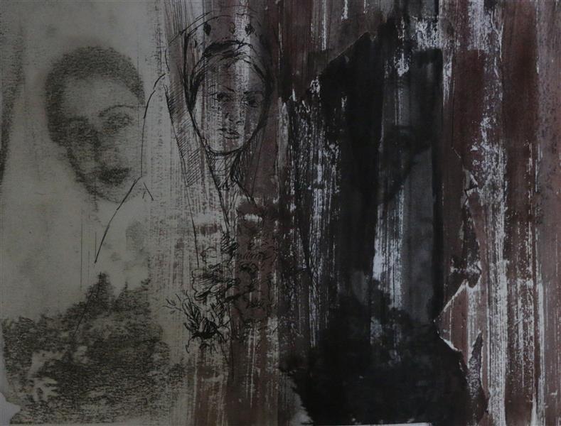 هنر نقاشی و گرافیک محفل نقاشی و گرافیک Frostami #پرتره#طراحی#میکس_مدیا