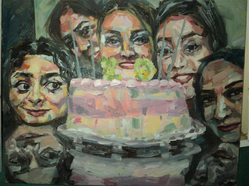 هنر نقاشی و گرافیک محفل نقاشی و گرافیک Frostami از #مجموعه #تولد #رنگ_روغن