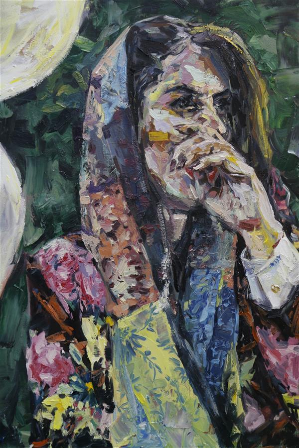 هنر نقاشی و گرافیک محفل نقاشی و گرافیک Frostami از مجموعه تولد عنوان اثر: سحر صورتی #سبک_های_نقاشی