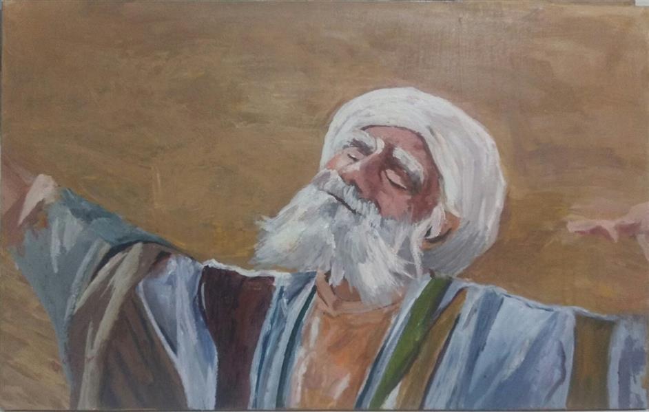 هنر نقاشی و گرافیک محفل نقاشی و گرافیک شمس آفاق حسینیان نام اثر نیایش در سه لت اکرلیک سال اجرا 93 بصورت سه لت باهم یا جداگانه فروخته میشود