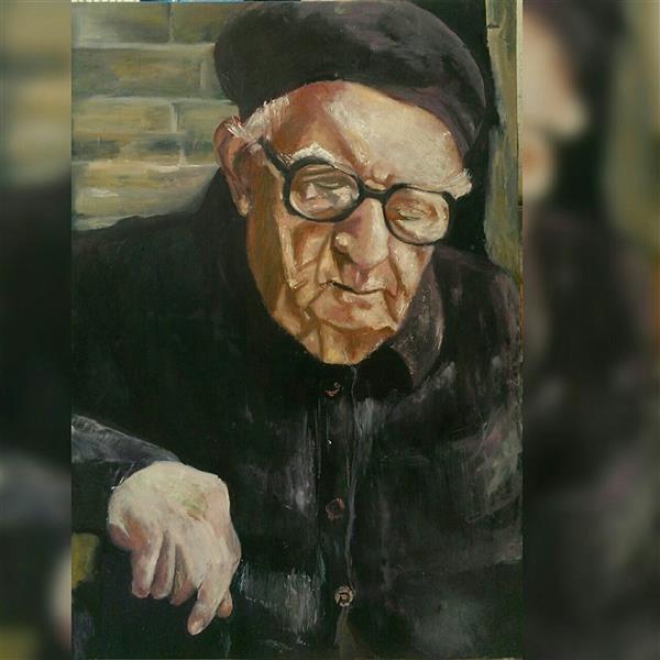 هنر نقاشی و گرافیک محفل نقاشی و گرافیک شمس آفاق حسینیان #عنوان  #اندازه 100*80 #تکنیک :اکرلیک و رنگ روغن