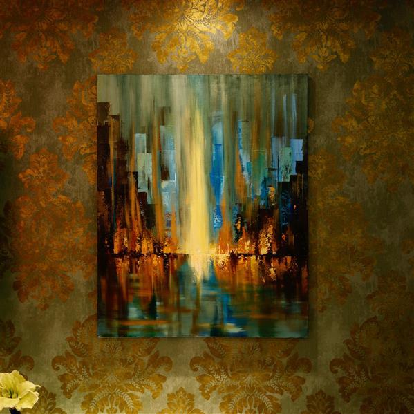 هنر نقاشی و گرافیک محفل نقاشی و گرافیک Shokoufeh ghorbani استرکت ۷۰*۱۰۰