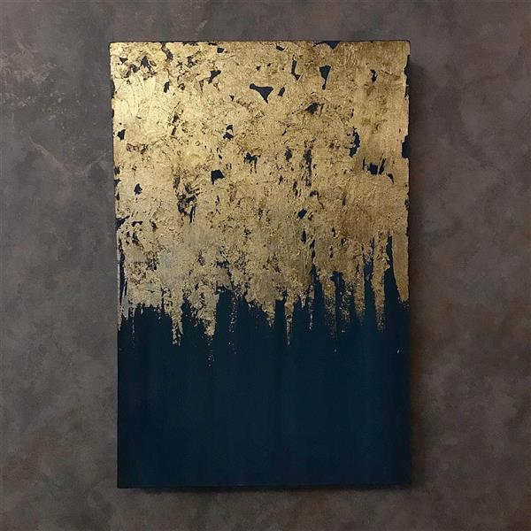 هنر نقاشی و گرافیک محفل نقاشی و گرافیک Shokoufeh ghorbani تکنیک ورق طلا و اکریلیک  بدون قاب  بر روی کنواس و بوم دیپ.