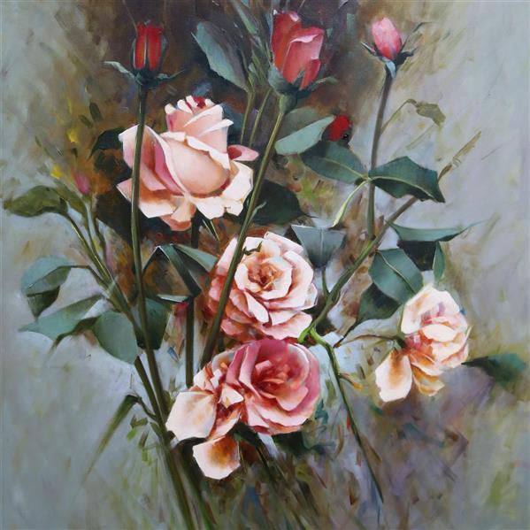 هنر نقاشی و گرافیک محفل نقاشی و گرافیک Shokoufeh ghorbani شکوفه قربانی  رنگ روغن  ۱۰۰*۷۰