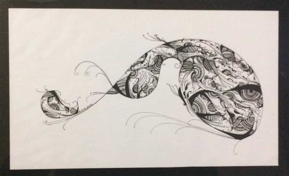 هنر نقاشی و گرافیک محفل نقاشی و گرافیک Ncye marvi متریال :راپید.کاغذ  ابعاد: A4