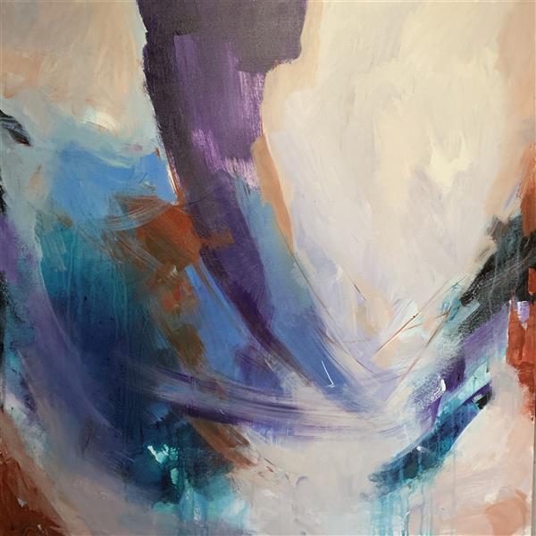هنر نقاشی و گرافیک محفل نقاشی و گرافیک Farnoushghorbani 100*100 cm ecolin&Acrylic on canvas