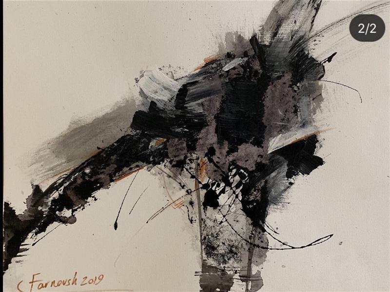 هنر نقاشی و گرافیک محفل نقاشی و گرافیک Farnoushghorbani Mix media on fabriano paper 30*40 cm