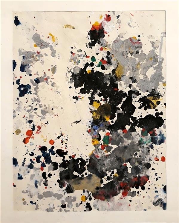 هنر نقاشی و گرافیک محفل نقاشی و گرافیک حسنلو #نقاشی #اکسپرسیونیسمِ_انتزاعی ، پاستل_روغنی ، ابعاد A3 ، #اورجینال