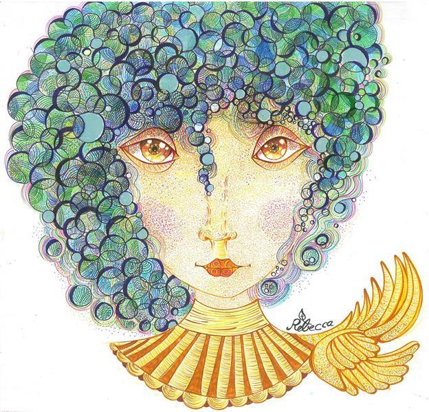 هنر نقاشی و گرافیک محفل نقاشی و گرافیک rebecca #surreal#art#illustrator
