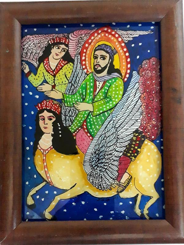 هنر نقاشی و گرافیک محفل نقاشی و گرافیک بهزاد نقاش نقاشی پشت شیشه   ۱۸/۱۳