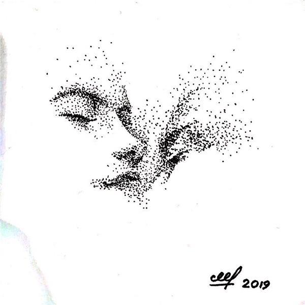 هنر نقاشی و گرافیک محفل نقاشی و گرافیک مهسا فرامرزی پوینتیلیسم #با راپید# ۱۰*۱۰