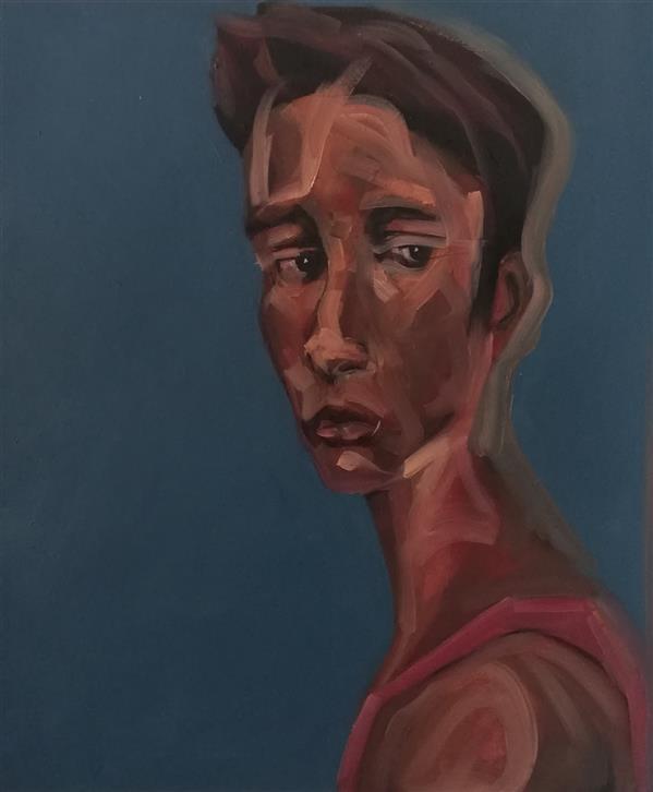 هنر نقاشی و گرافیک محفل نقاشی و گرافیک کسری منعمی رنگ روغن ۷۰×۷۰