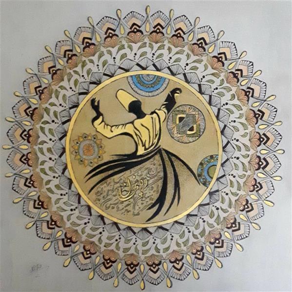 هنر نقاشی و گرافیک محفل نقاشی و گرافیک ناز محسنی مداد رنگی و اکرلیک