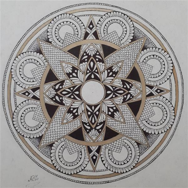 هنر نقاشی و گرافیک محفل نقاشی و گرافیک ناز محسنی #راپید روی مقوای بافت دار. سایز ۳۰×۳۰