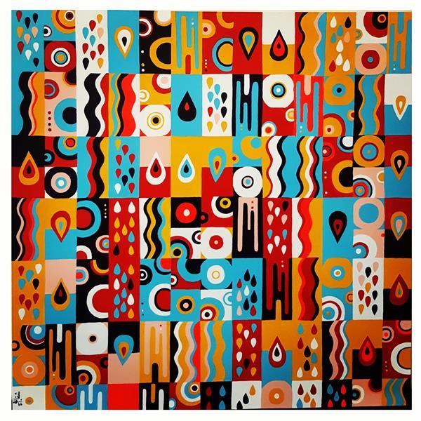 هنر نقاشی و گرافیک محفل نقاشی و گرافیک شقایق معظمی نام هنرمند= #شقایق معظمی سایز= 80*80 سبک= #اکریلیک تکنیک= #مدرن