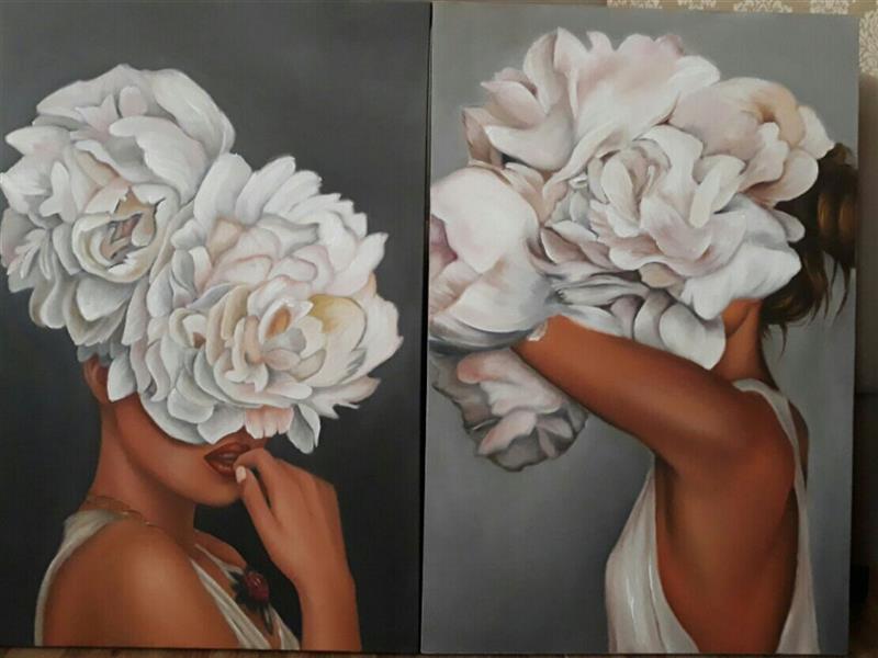 هنر نقاشی و گرافیک محفل نقاشی و گرافیک الهام معتمد  تابلوی#رنگ و روغن سفارش پذیرفته میشود پرتره#دکوراتیو#دکوری#دکوراسیون#مدرن