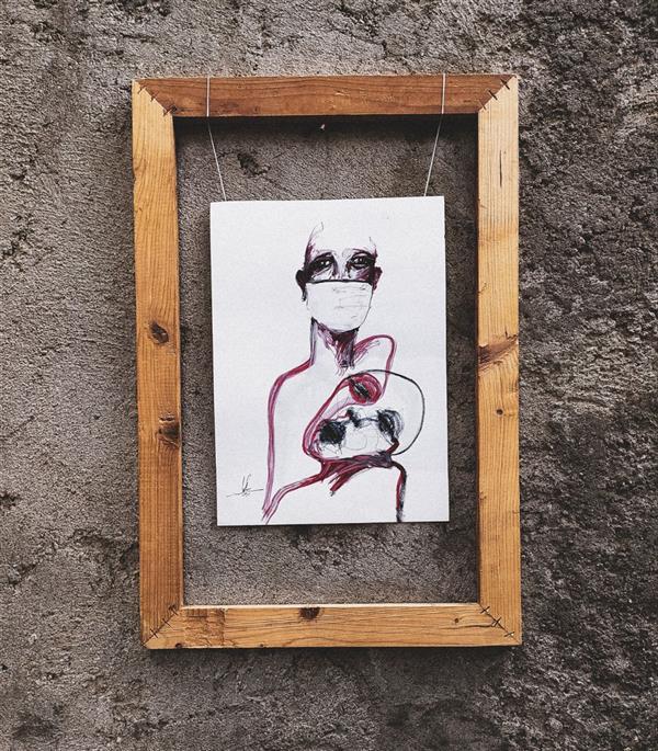 هنر نقاشی و گرافیک محفل نقاشی و گرافیک سوگند برهون کرونا