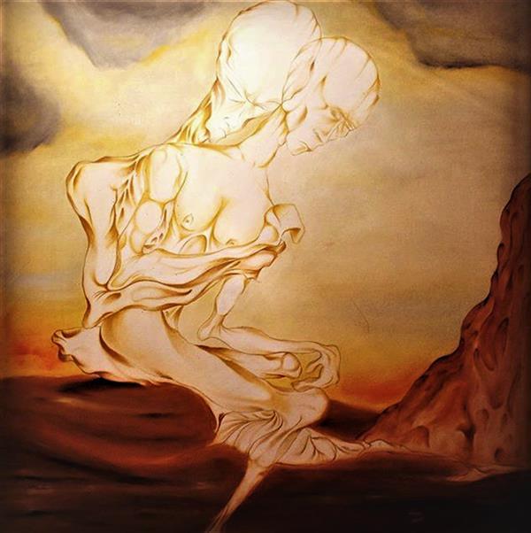 هنر نقاشی و گرافیک محفل نقاشی و گرافیک seyed mehdi kamyab sharifi last time i felt you butterfly. oil on canvas. 100x100 cm