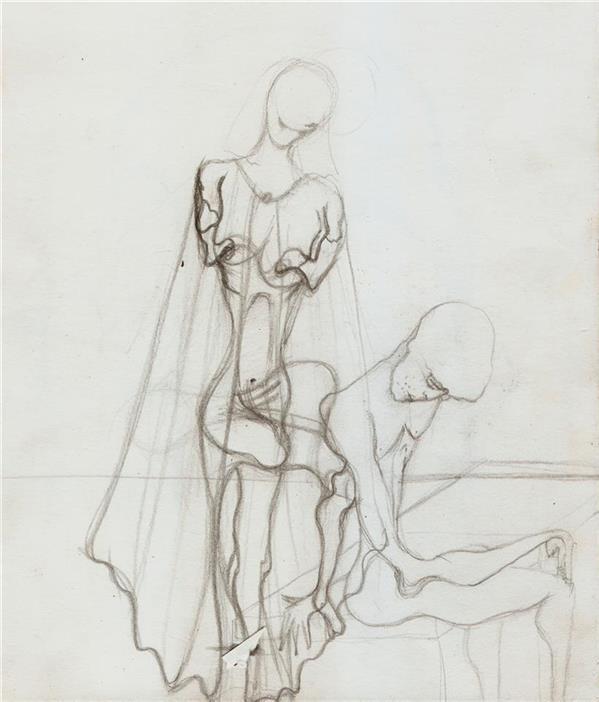 هنر نقاشی و گرافیک محفل نقاشی و گرافیک seyed mehdi kamyab sharifi inside my soul you are. sketch