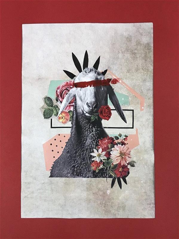 هنر نقاشی و گرافیک محفل نقاشی و گرافیک بهاره اخروى A4 میکس مدیا