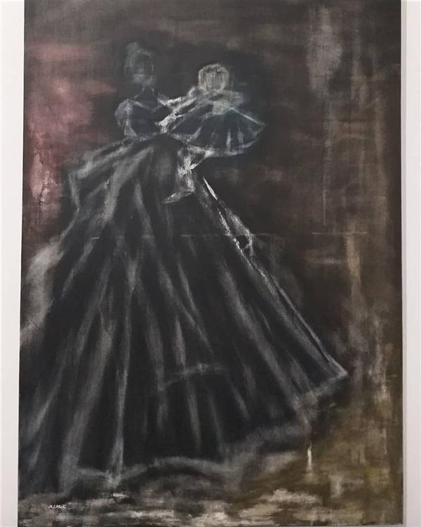 هنر نقاشی و گرافیک محفل نقاشی و گرافیک مریم سادات آتشی #اکرلیک #مدرن #سبک کاملا خلاقانه و شخصی #ابعاد ۱۰۰.۷۰