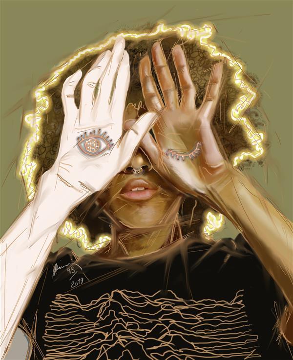 هنر نقاشی و گرافیک محفل نقاشی و گرافیک شمین اعتدال Sketchbook Digital painting° •نقاشی دیجیتال
