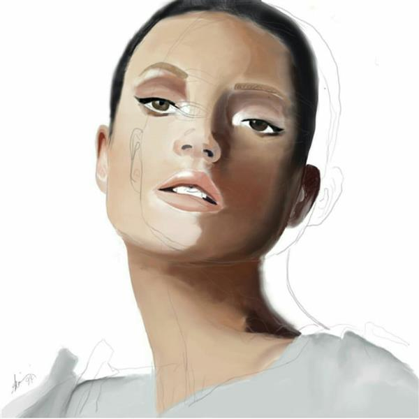 هنر نقاشی و گرافیک محفل نقاشی و گرافیک شمین اعتدال نقاشی دیجیتال Sketchbook