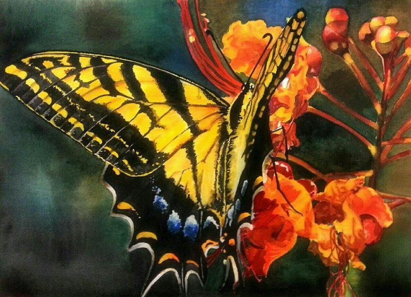 هنر نقاشی و گرافیک محفل نقاشی و گرافیک azita watercolor by azita davarkhah , آبرنگ