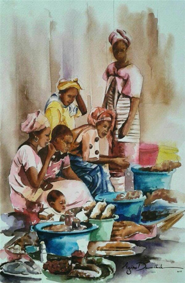 هنر نقاشی و گرافیک محفل نقاشی و گرافیک azita آبرنگ , watercolor