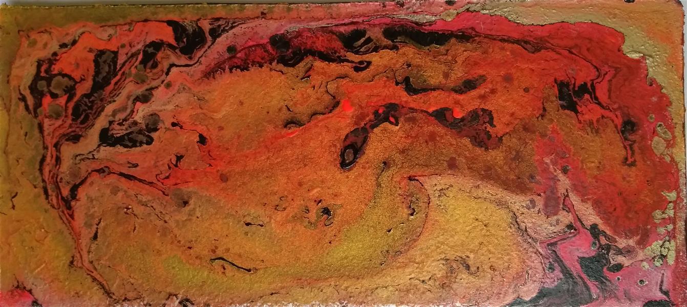 هنر نقاشی و گرافیک محفل نقاشی و گرافیک مهرنوش نوروزی اکریلیک روی چوب #آبستره #اکریلیک #ابر_و_باد #abstract #acrylic acrylic#abstract#
