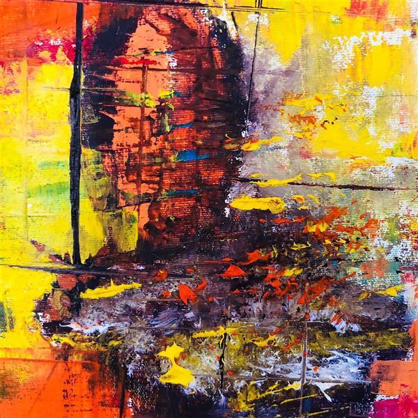 هنر نقاشی و گرافیک محفل نقاشی و گرافیک رویاکارپسند تابلو #رنگ_روغن ۵۰*۱۰۰
