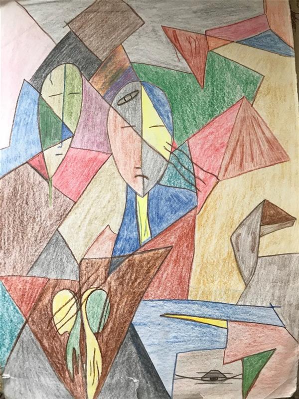 هنر نقاشی و گرافیک محفل نقاشی و گرافیک رویاکارپسند مدادرنگی  کاغذفابریانو