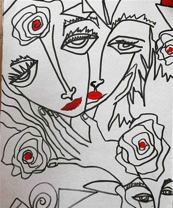 هنر نقاشی و گرافیک محفل نقاشی و گرافیک رویاکارپسند #لحظه                                                                                 #کاغذفابریانو