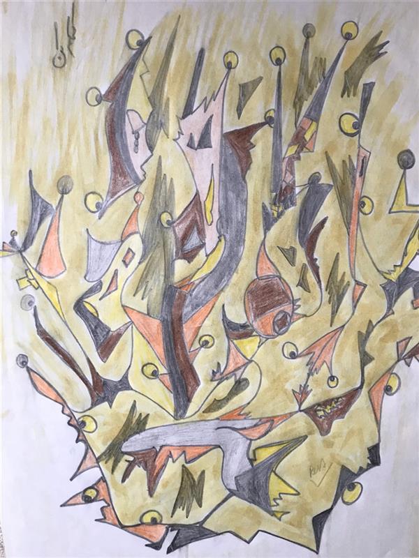 هنر نقاشی و گرافیک محفل نقاشی و گرافیک رویاکارپسند #مدادرنگی