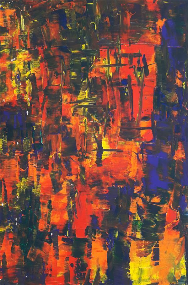 هنر نقاشی و گرافیک محفل نقاشی و گرافیک  فریدالله ادیب آئین حراجی اوراسیا حراج آنلاین آثار هنری نام هنرمند : فریدالله ادیب آئین ملیت نقاش:افغانستانی نام اثر: سبک: نقاشی کنشی ، کششی جنبش :پست مدرن تکنیک:رنگ اکریلیک متریال: بوم نخی نوع نقاشی: خلق اثر  سایز: 120x90cm
