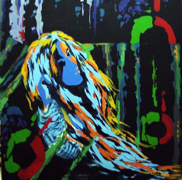هنر نقاشی و گرافیک محفل نقاشی و گرافیک پروانه والائی اکریلیک روی بوم. ۱۰۰× ۱۰۰