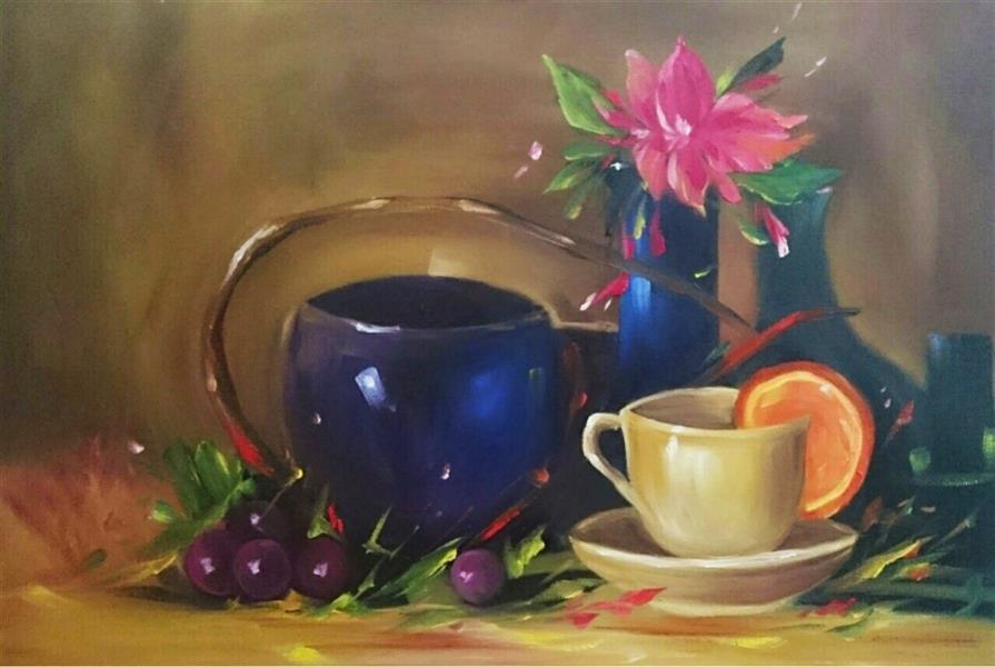 هنر نقاشی و گرافیک محفل نقاشی و گرافیک محمد عاشوری #رنگ_روغن