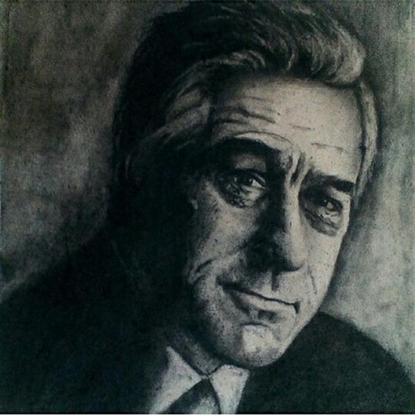 هنر نقاشی و گرافیک محفل نقاشی و گرافیک مهناز اسدی #سیاه قلم .سایز ۳۵/۵۰