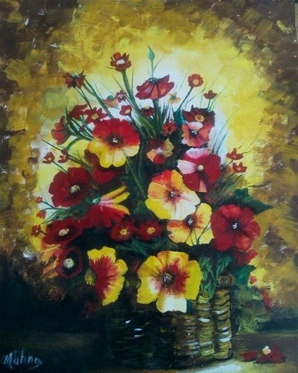 هنر نقاشی و گرافیک محفل نقاشی و گرافیک مهناز اسدی #۳۵در۵۰ رنگ روغن ۲۵۰