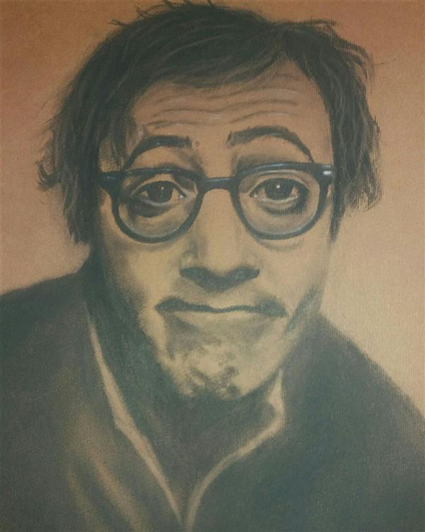 هنر نقاشی و گرافیک محفل نقاشی و گرافیک مهناز اسدی سیاه قلم ۳۴ در۵۰