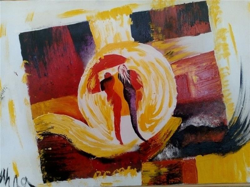 هنر نقاشی و گرافیک محفل نقاشی و گرافیک مهناز اسدی رنگ روغن ۷۰در۵۰
