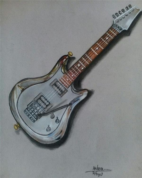 هنر نقاشی و گرافیک محفل نقاشی و گرافیک مهناز اسدی مداد رنگی  ۳۵در۵۰