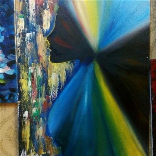 هنر نقاشی و گرافیک محفل نقاشی و گرافیک مهناز اسدی رنگ روغن  اندازه ۳۵ در ۵۰